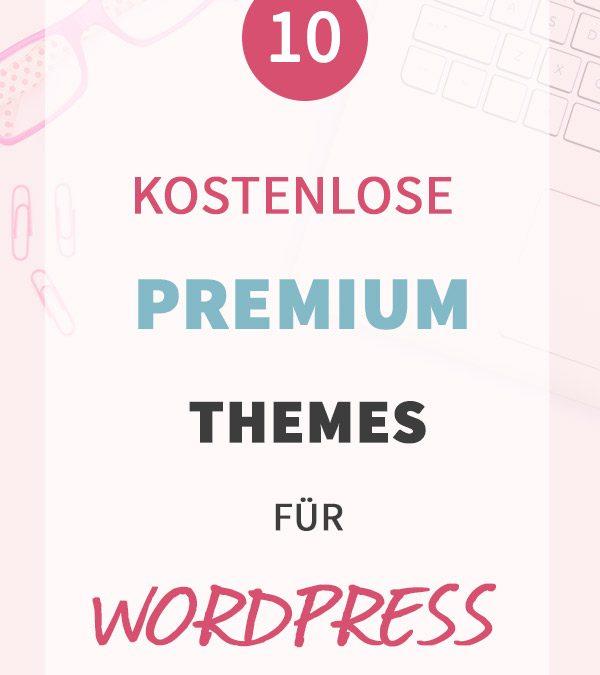 10 kostenlose Premium-WordPress-Themes