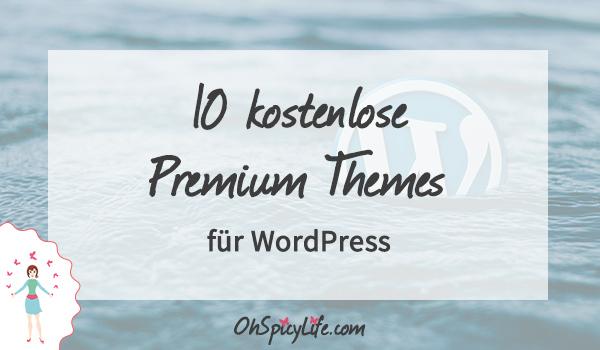 kostenlose Premium WordPress Themes