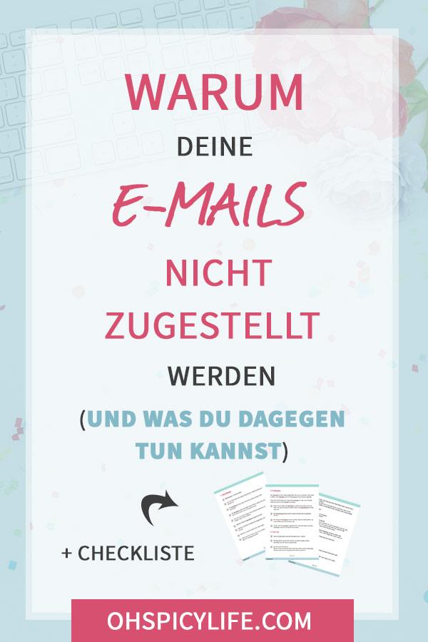 warum deine mails nicht zugestellt werden